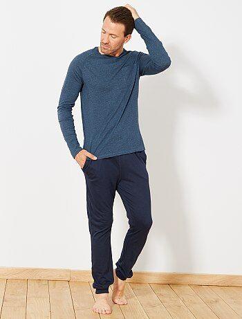 Hombre talla S-XXL - Pijama largo - Kiabi