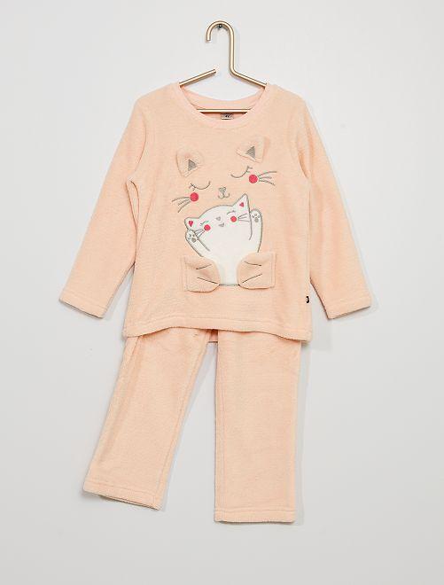 Pijama largo                     beige