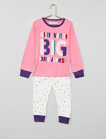 38830e325b Niña 3-12 años - Pijama largo  big dreams  - Kiabi