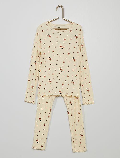 Pijama largo                                         BLANCO