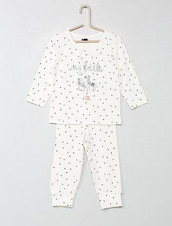 7b55e0c74 Rebajas pijamas y batas bebé niña baratas | moda Bebé niña | Kiabi