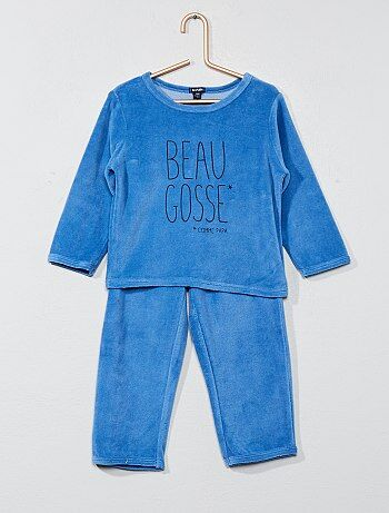 Pijama largo 'chico duro' - Kiabi