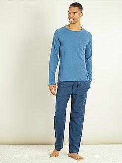 Pijamas - Pijama largo de 2 piezas