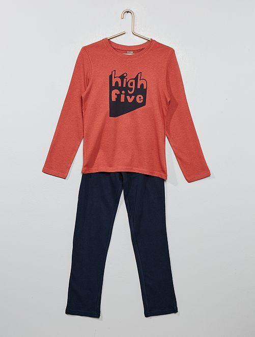 Pijama largo de fantasía                                                                                         ROJO