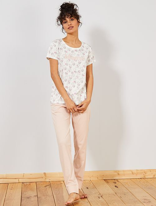 Pijama largo 'Disney'                                                     ROSA