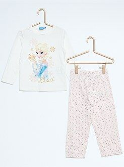 Pijamas - Pijama largo estampado 'Frozen'