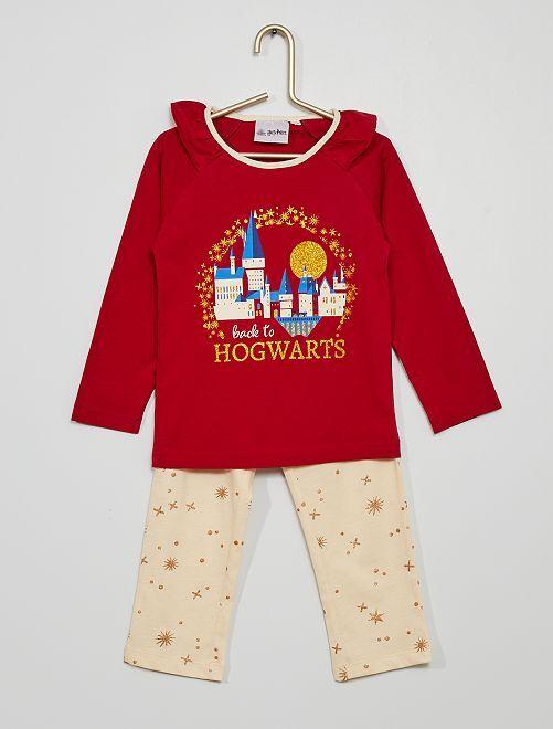 Pijama largo 'Harry Potter'                                         ROJO