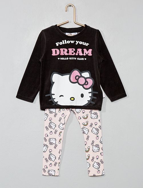 Pijama largo 'Hello Kitty'                             ROSA Chica