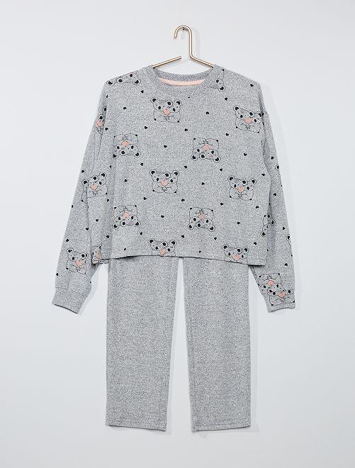 Pijama largo 'koala'                             ROSA