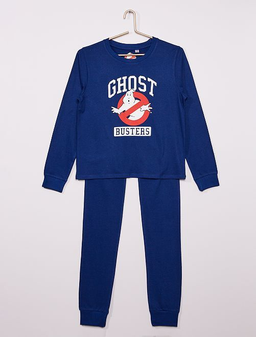 Pijama largo 'Los cazafantasmas'                             azul