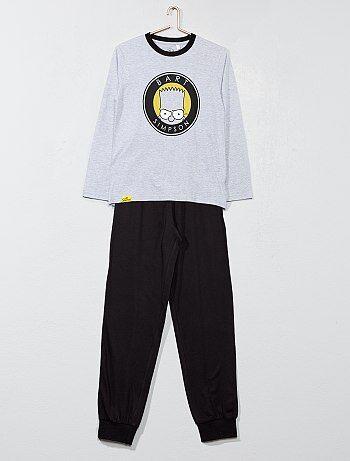 Pijama largo 'Los Simpson' - Kiabi