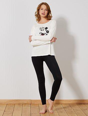 Pijama largo 'Mickey' - Kiabi