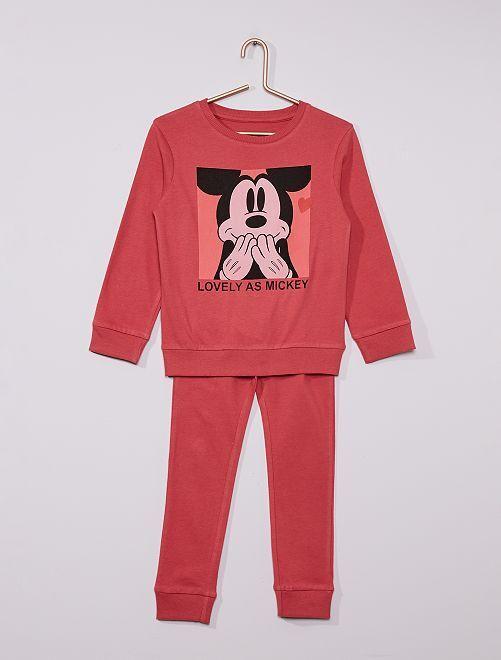 Pijama largo 'Mickey' 'eco-concepción'                             ROSA