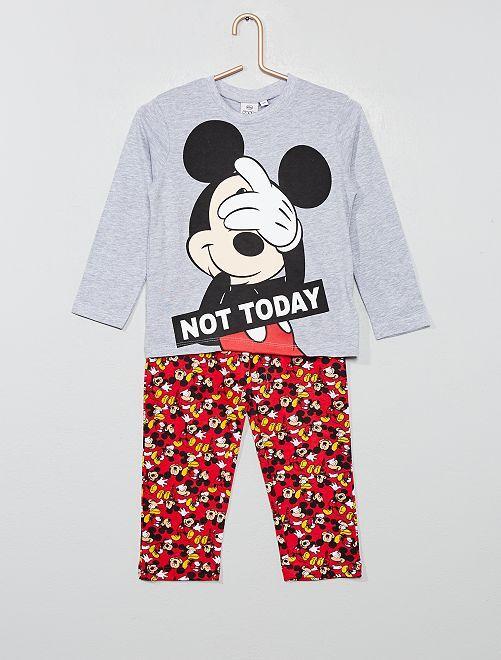 Pijama largo 'Mickey'                                         GRIS Chico
