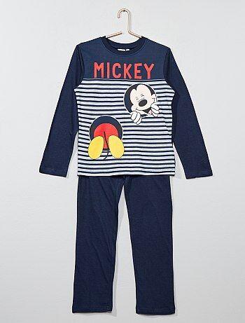 Pijama largo 'Mickey Mouse' - Kiabi