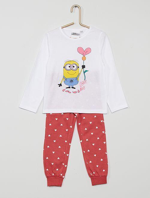 Pijama largo 'Minions'                             BLANCO