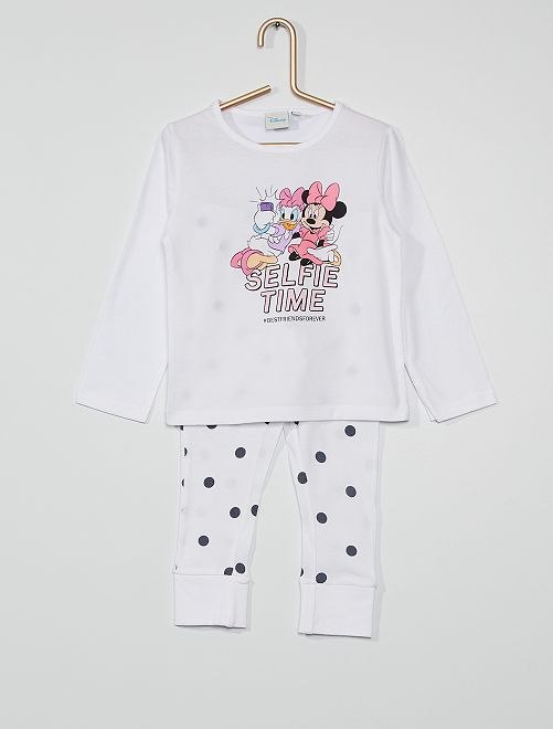 Pijama largo 'Minnie'                     BLANCO