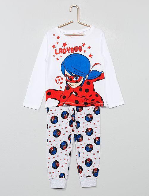 Pijama largo 'Miraculous'                             GRIS