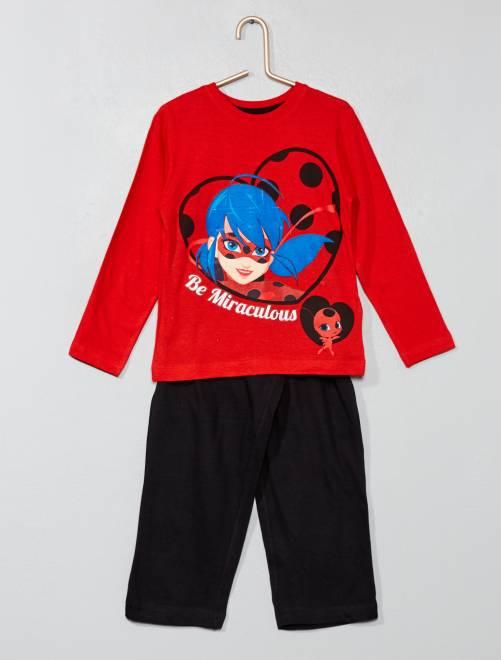 Pijama largo 'Miraculous'                             ROJO Chica