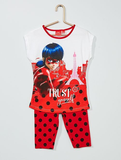 Pijama largo 'Miraculous'                                         ROJO