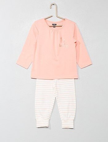 ba0b609af Pijama largo  piñas  - Kiabi