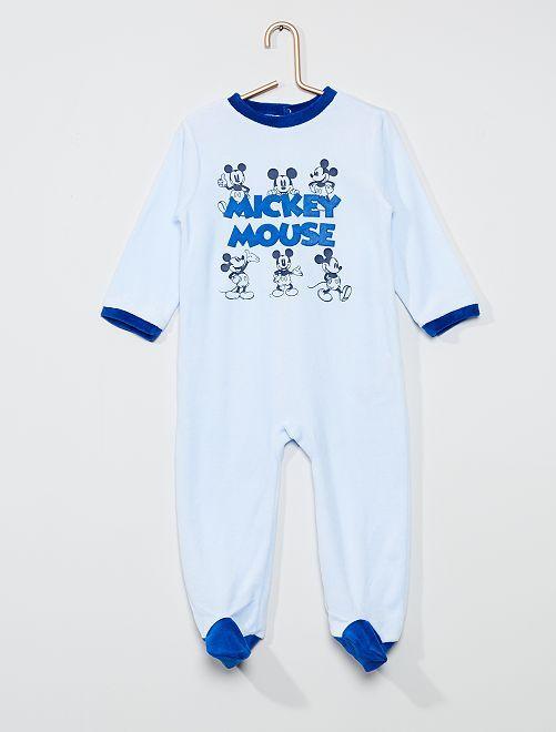 Pijama largo polar 'Mickey Mouse' de 'Disney'                                         azul