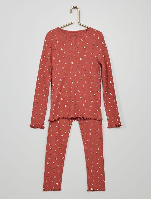 Pijama largo                                         ROJO