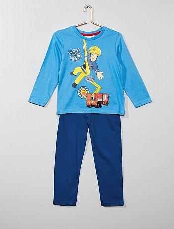 Pijama largo 'Sam el bombero' - Kiabi