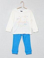 Pijama largo \'unicornio\'