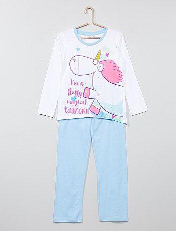 Pijama largo 'Unicornio' 'Gru, mi villano favorito' - Kiabi
