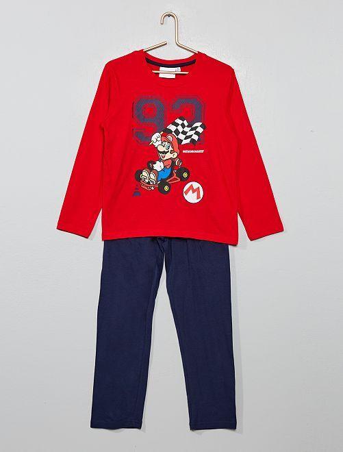 Pijama 'Mario Kart'                                                     ROJO
