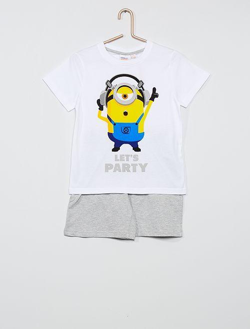 Pijama 'Minions'                             blanco