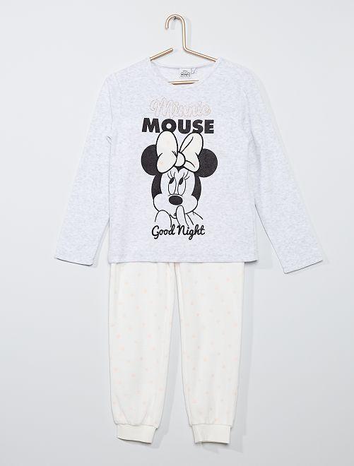 Pijama 'Minnie' de tejido polar                             minnie