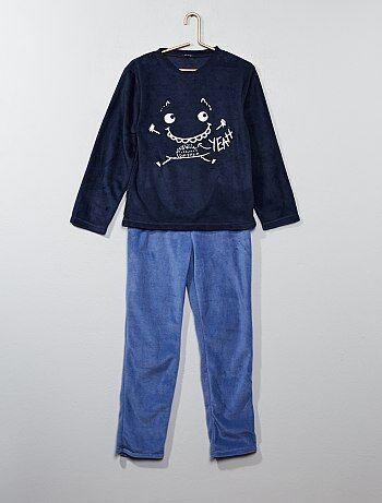 Pijama 'monstruo' de tejido polar - Kiabi