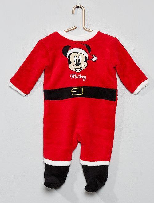 Pijama navideño 'Mickey'                             rojo