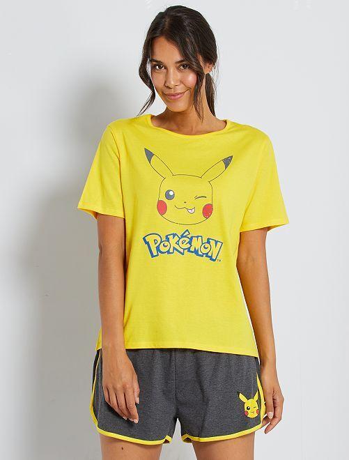 Pijama Pikachu 'Pokemon'                             AMARILLO