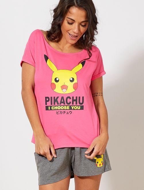 Pijama 'Pokemon'                             ROSA Lencería de la s a la xxl
