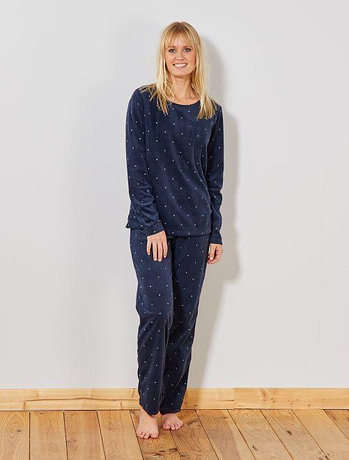 Pijama polar                                                                 AZUL