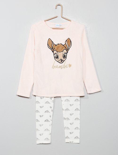 Pijama polar 'Bambi'                             ROSA