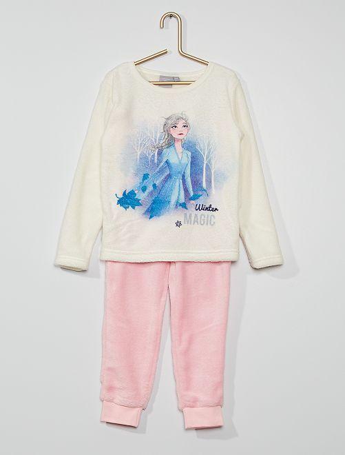 Pijama polar 'Frozen'                             beige/rosa