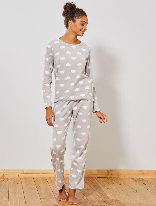 Pijama polar                                                                 GRIS