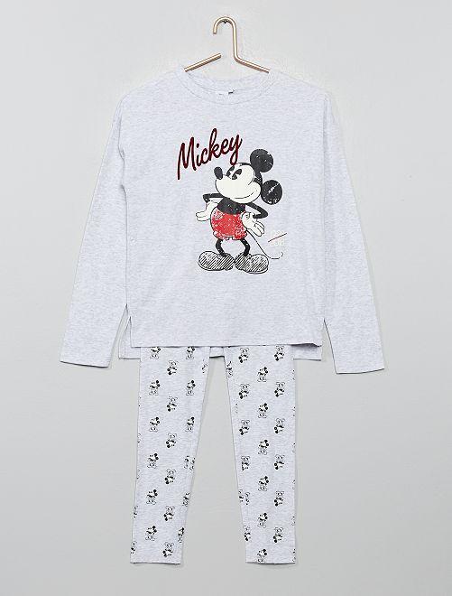 Pijama polar 'Mickey'                                                     GRIS