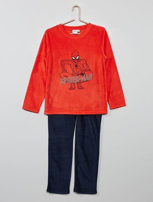 Pijama polar 'Spider-Man'                             ROJO