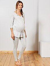 super popular c3d4b 339d2 Camisones y pijamas de premamá para Mujer | Kiabi
