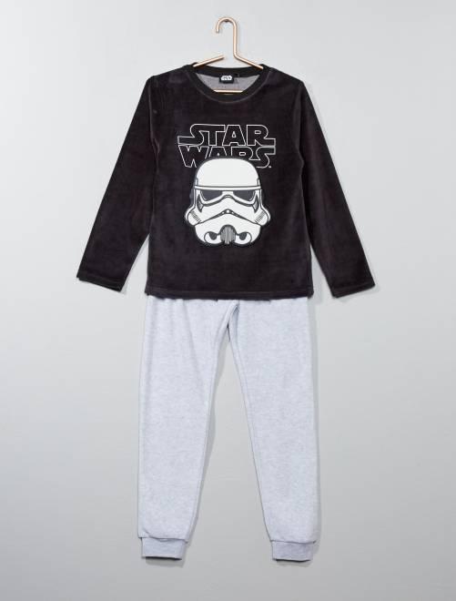 Pijama 'Soldados Imperiales' 'Star Wars' de 'Disney'                             gris Chico