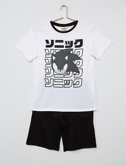 Pijama 'Sonic'                             blanco