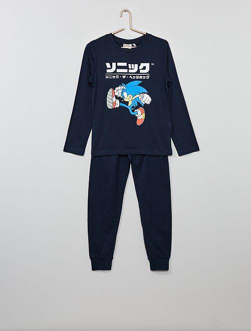 Pijama 'Sonic'                             GRIS Chico