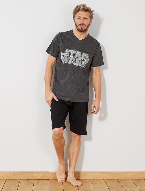 Pijama 'Star Wars'                                         GRIS Hombre