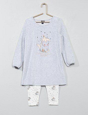 Pijama 'unicornio' - Kiabi