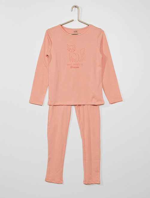 Pijama 'zorro'                                                                                         ROSA